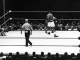 Sonny Liston and Floyd Patterson - 1962 Photographic Print by Lacey Crawford