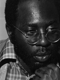 Curtis Mayfield - 1973 Photographic Print by Ozier Muhammad