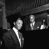Nat King Cole - 1954 Photographic Print by David Jackson