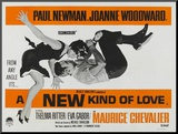 A New Kind of Love, UK Movie Poster, 1963 Mounted Print