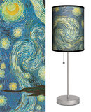 Starry Night - Table Lamp Table Lamp by Vincent van Gogh