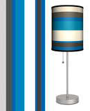 Blue Stripes - Table Lamp Table Lamp