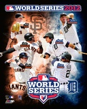 San Francisco Giants vs. Detroit Tigers World Series Match-up Composite Photographie