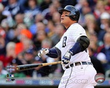 Miguel Cabrera 2 Run Home Run Game 4 of the 2012 American League Championship Series Action Photo