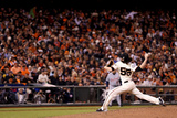 San Francisco, CA - Oct. 24:   San Francisco Giants v Detroit Tigers - Tim Lincecum Photographic Print by Christian Petersen