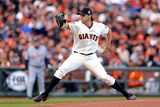 San Francisco, CA - Oct. 24:   San Francisco Giants v Detroit Tigers - Barry Zito Photographic Print by Christian Petersen