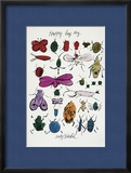 Happy Bug Day, c.1954 Framed Giclee Print by Andy Warhol