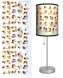 Saturday Evening Post: Day in The Life of a Little Girl - Table Lamp Table Lamp by Norman Rockwell