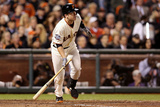 San Francisco, CA - Oct. 24:   San Francisco Giants v Detroit Tigers - Buster Posey Photographic Print by Christian Petersen