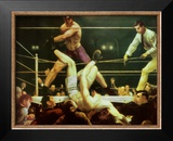 Dempsey and Firpo, 1924 Art by George Wesley Bellows