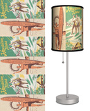 Surfing Hawaiian Tours - Table Lamp Table Lamp