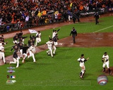San Francisco Giants 2012 National League Champions Celebration Photo