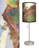 Tahitian Landscape - Table Lamp Table Lamp by Paul Gauguin