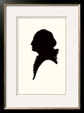 Silhouette of George Washington Posters