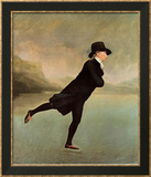 Reverend Robert Walker Skating on Duddin Prints by Sir Henry Raeburn