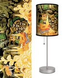Childhood's Garden - Table Lamp Table Lamp by Charles Burchfield