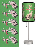 Surfing Girl - Table Lamp Table Lamp