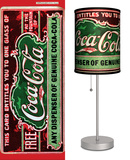 Coca-Cola: Antique Coupon - Table Lamp Table Lamp