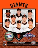 San Francisco Giants 2012 National League Champions Composite Photographie