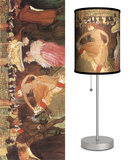 Ball at the Moulin Rouge - Table Lamp Table Lamp by Henri de Toulouse-Lautrec