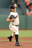 San Francisco, CA - Oct. 24:   San Francisco Giants v Detroit Tigers - Barry Zito Photographic Print by Ezra Shaw