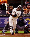 Pablo Sandoval Solo Home Run 5th Inning Game 1 of the 2012 MLB World Series Action Photo