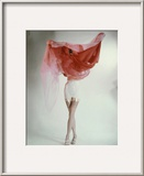 Vogue - February 1953 Framed Photographic Print by Erwin Blumenfeld