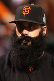 San Francisco, CA - Oct 25: San Francisco Giants v Detroit Tigers - Brian Wilson Photographic Print by Christian Petersen