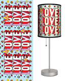 The Beatles: Love Love Love - Table Lamp Table Lamp