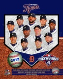Detroit Tigers 2012 American League Champions Composite Foto
