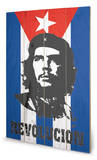 Che Flag Wood Sign