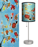 Saturday Evening Post: Jack 'n Jill Leaf Kids - Table Lamp Table Lamp