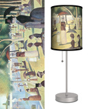 A Sunday Afternoon on the Island of La Grande Jatte - Table Lamp Table Lamp by Georges Seurat