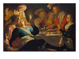 Cheerful Gathering, 1622 Posters by Gerrit van Honthorst