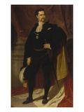 Ludwig Ii. of Bavaria as Hubertusritter Giclee Print by Ferdinand Piloty
