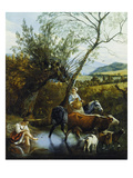 The Ford, 1672 Giclee Print by Jan Siberechts