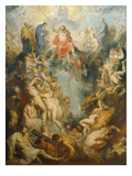 The Large Last Judgement, 1617 Print by Peter Paul Rubens