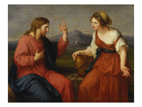 Christ and the Samaritan Woman at the Well, 1796 Lámina giclée por Angelica Kauffmann