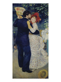 A Dance in the Country, 1883 Giclee Print by Auguste Renoir