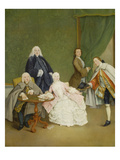 Game of Cards, about 1760 Prints by Pietro Longhi