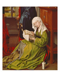 Mary Magdalene Reading, about 1435 Giclée-tryk af Rogier van der Weyden
