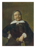 Portrait of a Man (Willem Croes), about 1660 Giclée-Druck von Frans Hals