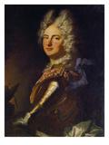 Count Palatine Christian III. of Zweibruecken-Birkenfeld Print by Hyacinthe Rigaud