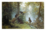Morning in a Pine Forest, 1889 Giclee Print by Iwan Iwanowitsch Schischkin