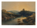 Norham Castle: Morning Giclee Print by J. M. W. Turner