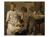 After Work, 1900/01 Giclee Print by Max Slevogt