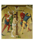 Passion Altar: Christ at the Martyrdom Column, about 1470/80 Giclee Print by Rueland Frueauf