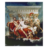 Mars Disarmed by Venus and the Graces Posters by Jacques Louis David