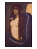 The Sin Prints by Franz von Stuck