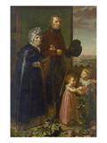 The Artist's Parents, 1806 Poster by Philipp Otto Runge